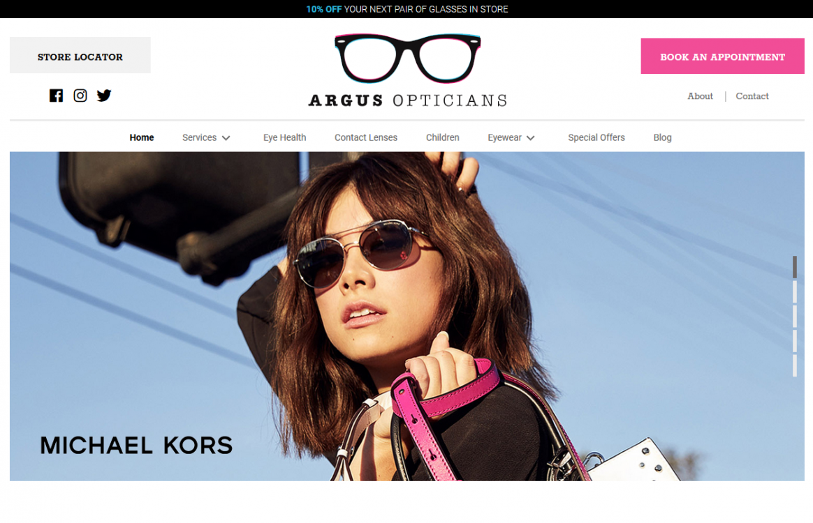 Argus Opticians | Bundoran & Donegal Town
